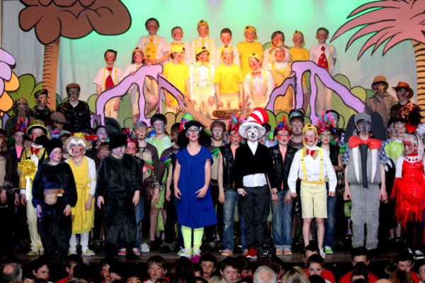 Our Seussical finale in 2016