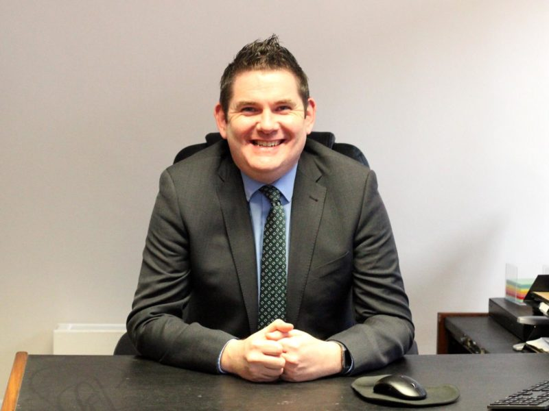Mr Lorcan Coyle    Principal